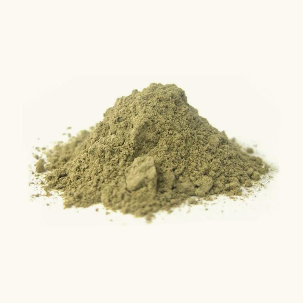 Келп, порошок из молотой бурой водоросли