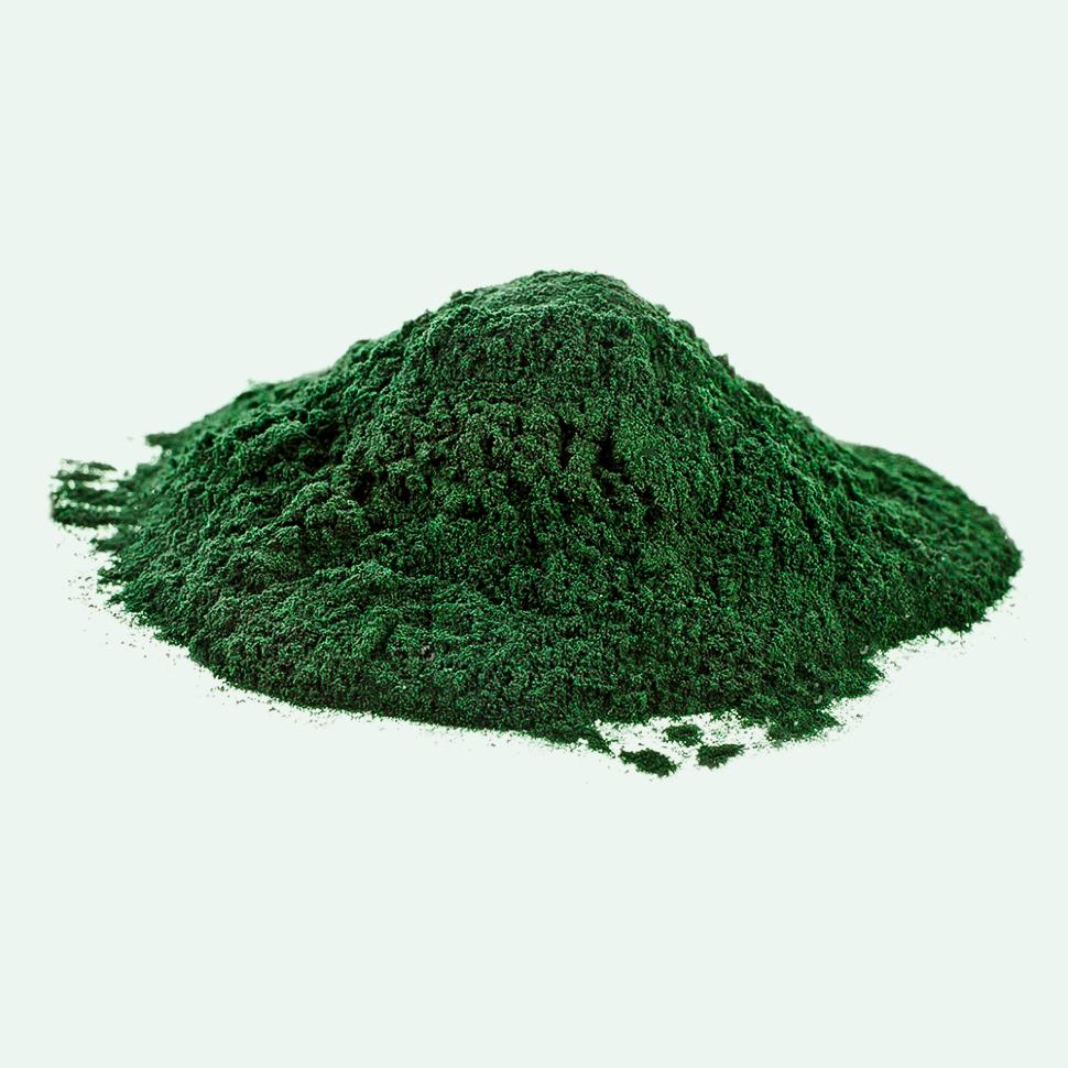 Спирулина порошок, сине-зеленая микроводоросль