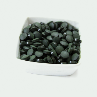 Спирулина таблетки, сине-зеленая микроводоросль
